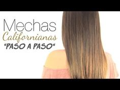 "Mechas californianas paso a paso ""Ombre hair"" - YouTube"