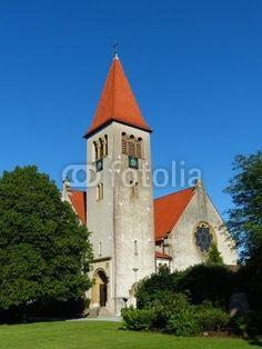 Die Dorfkirche in Helpup bei Oerlinghausen in Ostwestfalen-Lippe