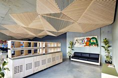 accoustic ceiling?
