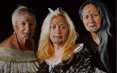 maori tattoos in new zealand Polynesian People, Polynesian Art, Polynesian Culture, Maori Face Tattoo, Maori Tattoos, Maori People, Maori Designs, Nz Art, Maori Art