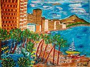 """""""Margarita Time"""" - painting by George Washnis"""