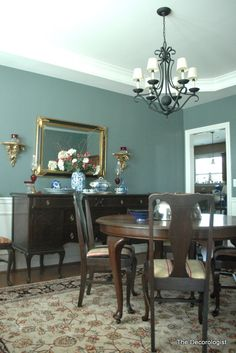 Benjamin Moore Templeton Gray Dining Room By The Decorologist Paint Color