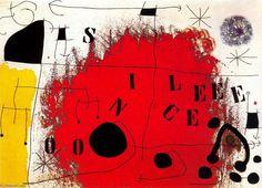 Joan Miro >> Silencio
