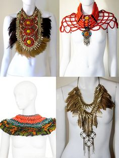 Montage by www.cewax.fr des bijoux colliers ethniques Anita Quansah