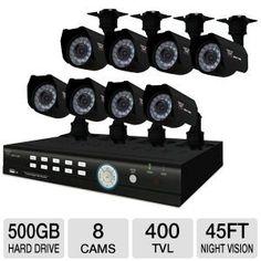 Night Owl Internet-Ready Security System at Savings off Retail! Dvr Security System, Video Security, Security Surveillance, Surveillance System, Thing 1, Internet Explorer, Cmos Sensor, Night Owl