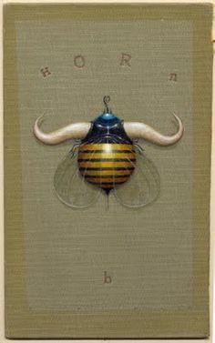 Bill Carman December 2009 | mixed media on antique book cover