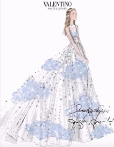 Custom gown by the House of Valentino: Beatrice Borromeo wedding to Pierre Casiraghi July 25, 2015