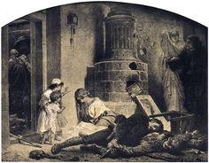 Artur Grottger - Wojna, IX. Już tylko nędza, 1867