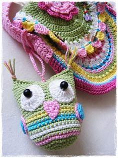 Fizule71: Háčkovaná sovička Crochet Projects, Crochet Hats, Knitting Hats