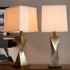 "Brayden Studio® Brendan 31"" Table Lamp Set"