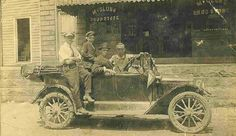 McClungs Drug Store , Richwood W VA. Early 1920's
