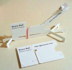 20 creative folded business cards