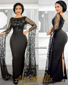 67 Edition Of - chic Trendy Aso Ebi Style Lace & African Print Outfits For the week African Lace Styles, African Lace Dresses, Latest African Fashion Dresses, African Print Fashion, Wedding Attire For Women, African Wedding Attire, African Attire, Nigerian Lace Dress, Dinner Gowns