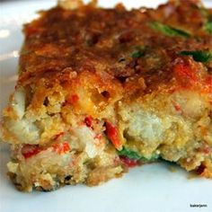 """Crawfish Cornbread 