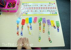 LOVE this activity for my nuggets who need extra number sense understanding.