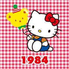 Hello kitty through the years 1984