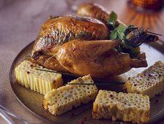 La poularde farcie aux herbes sous la peau Foie Gras, Fruits Photos, Aioli, 20 Min, Flan, Parfait, Entrees, Food And Drink, Turkey