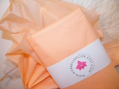 "Tissue Paper - Peach 24 Sheets of 20"" X 30"" -DIY Pastel Wedding Decor - Gift Wrap - Favor Box Packaging - DIY Pom Pom Supplies on Etsy, $3.99"