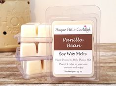Soy Wax Tarts - Scented Wax Melts - Candle Melts - Natural Soy Wax Melts - Scented Wax Cubes - Home Fragrance - Vanilla Bean Wax Tarts Scented Wax Melts, Soy Wax Melts, Homemade Foundation, Candle Melts, Wax Tarts, Cubes, Vanilla, Fragrance, Candles