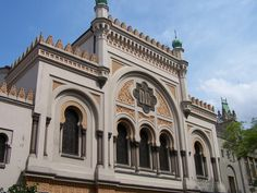 The Spanish Synagogue is a Moorish Revival synagogue built in Prague, Czech Republic