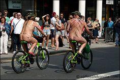 Brighton Naked Bike Ride 2014