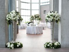 Weddingbells - An Elegant White and Silver Wedding In Ottawa | Planning by: The Design Co (formerly Marry Me Productions); Florals by: The Design Co. (formerly Full Bloom Floral Design)    http://thedesign-co.com/press-ottawa-wedding-planner-florist.html