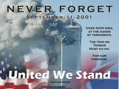 """And """"NEVER FORGET"""""""