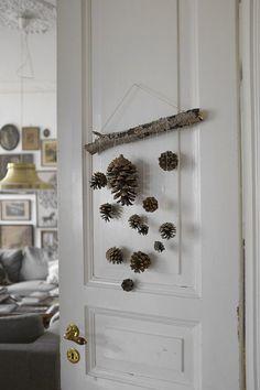 Натуральные шишки в праздничном декоре, или Новый год уже стучится! - Ярмарка Мастеров - ручная работа, handmade