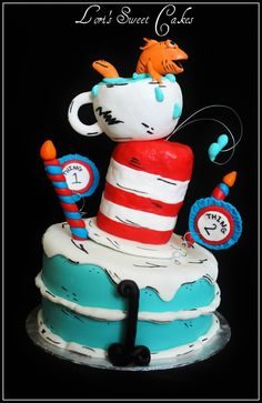 Cat In The Hat cake — Children's Birthday Cakes