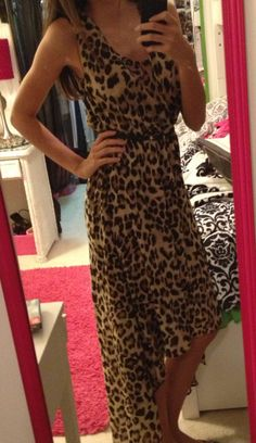 obsessed with this cheetah hi low