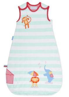 Grobag Sleeping Bag - Sleepy Circus 0-6 Months 2.5 tog [Baby Product]