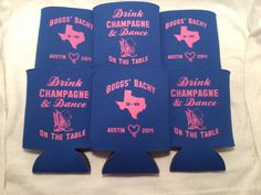 Wedding Koozies Design 12910649 lot of 25 by odysseycustomdesigns