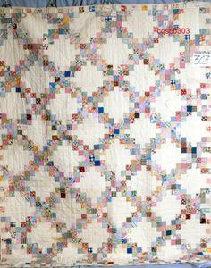 Quilt tutorial! Jenny teaches you how to make an Irish chain quilt ... : irish quilt tutorial - Adamdwight.com