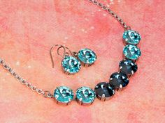 Celeste Necklace and Earrings
