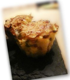 muffins coquillettes jambon petits pois
