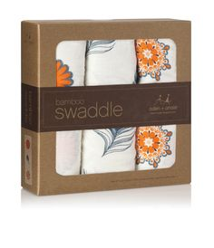 I'm obsessed. mela bamboo swaddles // at Darling Clementine