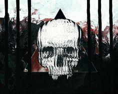 #wallpager #goth #gothoque. #fondecran #fonddécran #fonddécran #wallpagergothique #gotik #skull #skullhead #wallpagerskull #skullwallpager #triangle