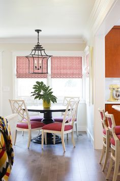 Eclectic kitchen in an updated craftsman style home with asian inspired lighting  Architectural Detail  Breakfast Room  Kitchen  Asian  Eclectic  Transitional by PepperJack Interiors