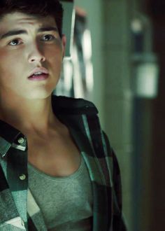 Ian Nelson as young Derek Hale in Teen Wolf and the District three male tribute in the Hunger Games