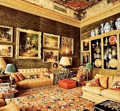 """Umberto on Instagram: """"#geoffreybennisonmasterdecorator #geoffreybennison #interiordesign #interior #inspiration #book #via @archdigest @bennisongillynewberry"""" Traditional Interior, Classic Interior, British Home, Interior Decorating, Interior Design, Paris Apartments, Architectural Digest, Home Decor Styles, Decoration"""
