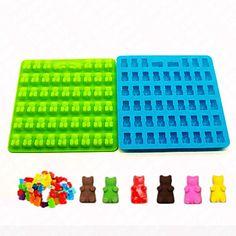 Molde Animal para Candy Silicone Bricolage 3D Alta qualidade Anti-Aderente Férias