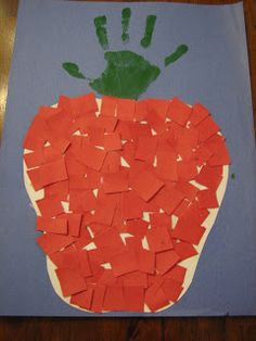 Ramblings of a Crazy Woman: Another Pre School Apple Craft - Fall Crafts For Toddlers Kids Crafts, Daycare Crafts, Classroom Crafts, Toddler Crafts, Preschool Crafts, Fall Crafts, Apple Classroom, Classroom Ideas, Apple Activities