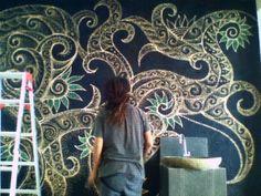 tembok batik