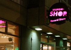 Stupido-SHOP pop/rock/indie/suomi/ hiphop/reggae/elektro/jazz/soul Record Store Helsinki, Rock Indie, Shop Signage, Hiphop, Vinyl Records, Love Story, Jazz, Medicine, Shops