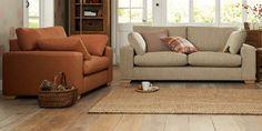 Buy Sonoma II Small Sofa (2 Seats) Tweedy Weave Ginger Light   Next on trend colour?