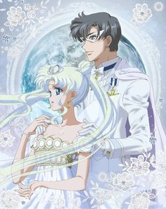 Neo-Queen Serenity, King Endymion Featured in Sailor Moon Crystal's 11th Blu-ray Cover Art - Interest - Anime News Network