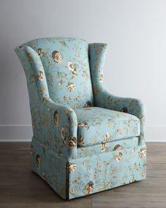 """""""Tana"""" Skirted Chair - Horchow"""