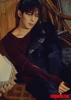Hongbin (VIXX) - Cosmopolitan Magazine October Issue '16