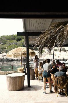 Nouvel eden à Ibiza  MilK decoration Ibiza Travel, Spain Travel, Ibiza Trip, Ibiza Restaurant, Restaurant Ideas, Ibiza 2016, Ibiza Formentera, Beach Bars, Renting A House