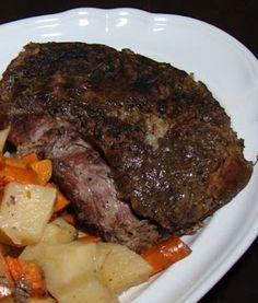 Tami's Kitchen Table Talk: Crockpot Italian Beef Roast with Potatoes & Carrots